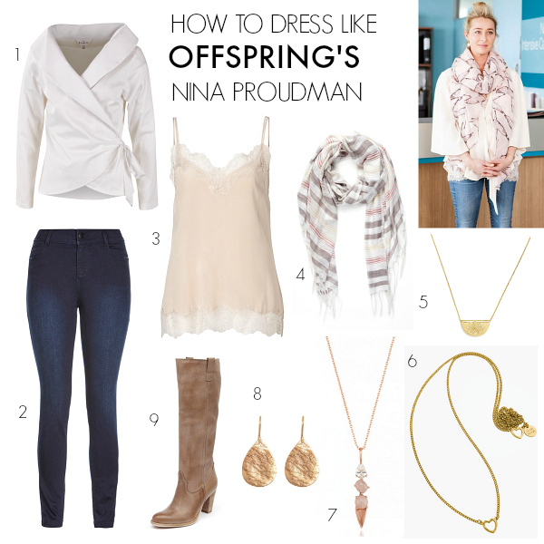 How to dress like Offspring's Nina Proudman   Series 6   Episode 10 - the Finale