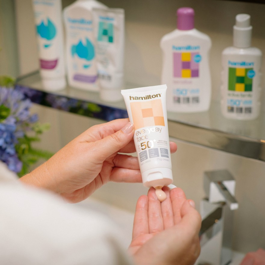 Australian owned and award-winning Hamilton sunscreen | there is a sunscreen for every member of the family