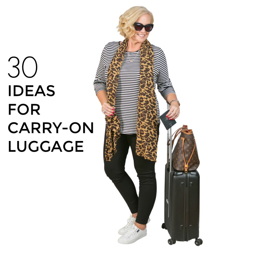 30 ideas for carry-on luggage | Styling You