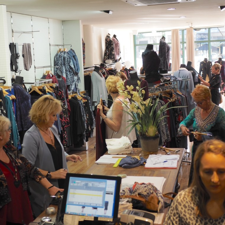 Hello Me and Styling You shopping and styling tour Melbourne   In store event at Motto, Williamstown