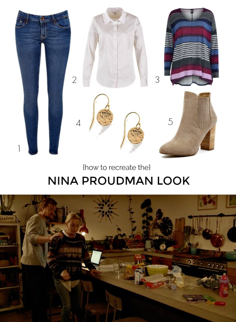 How to recreate the Nina Proudman look (Season 7; Episode 3)