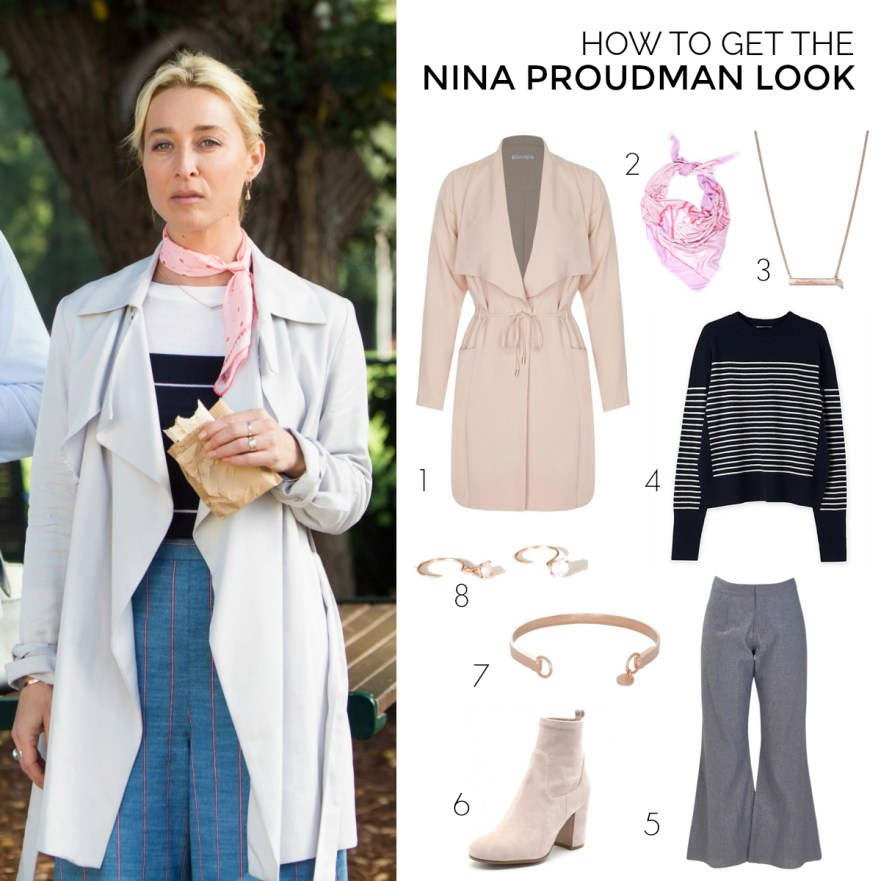 How to get the Nina Proudman Look Season 7 Episode 6