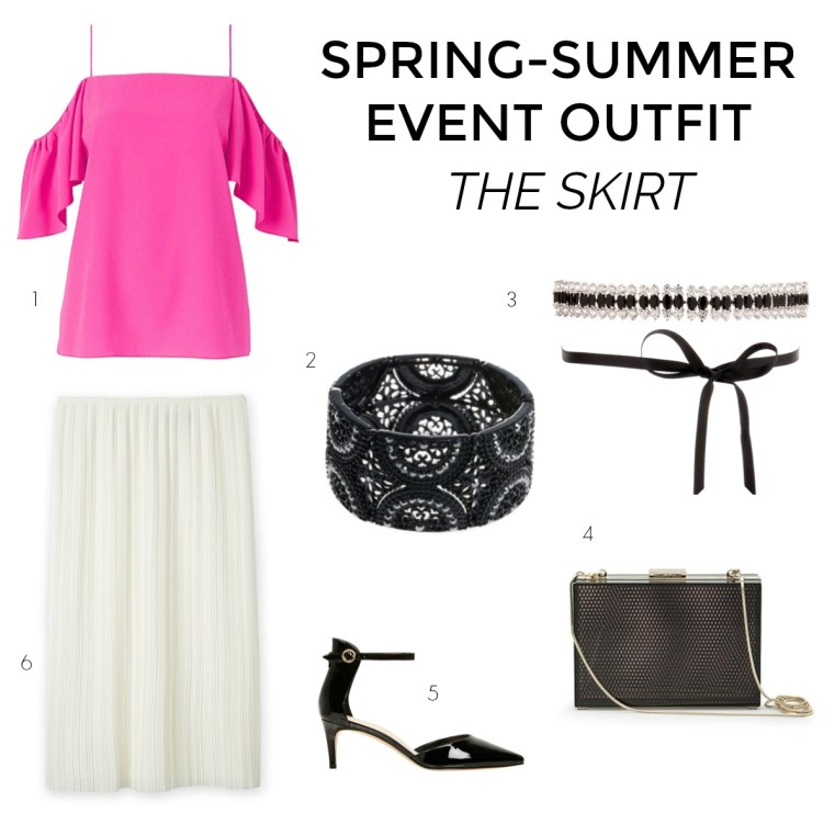 spring-summer occasion or event wardrobe - the skirt - Styling You