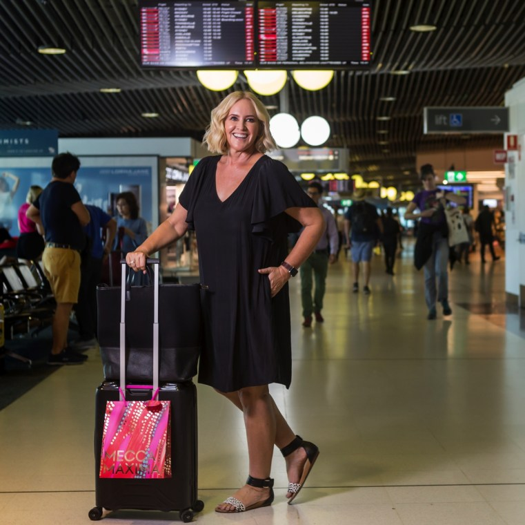 If you shop at an airport on your way to somewhere else, did it really happen? | Brisbane Airport | Nikki Parkinson Styling You | Photo: Sarah Keayes The Photo Pitch