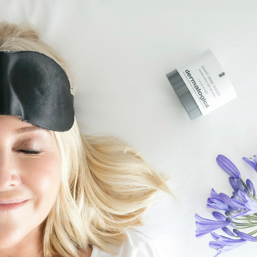 Dermalogica Sound Sleep Cocoon | Nikki Parkinson of Styling You. Photo by Sarah Keayes/The Photo Pitch