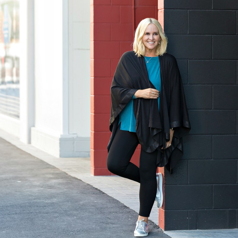 Motto York Woolly poncho | how to wear a poncho