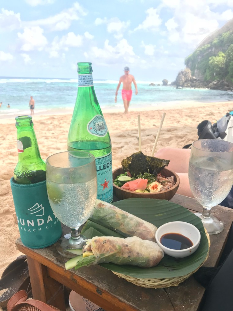Sundays Beach Club lunch | 5 reasons to stay and play in Uluwatu on your next holiday in Bali