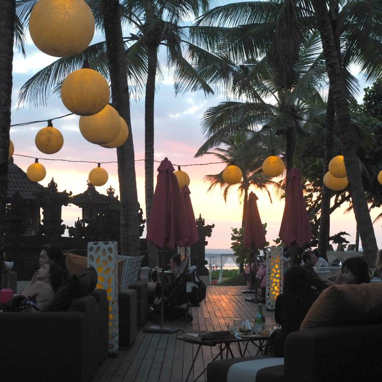 W Seminyak Bali sunset Woo Bar