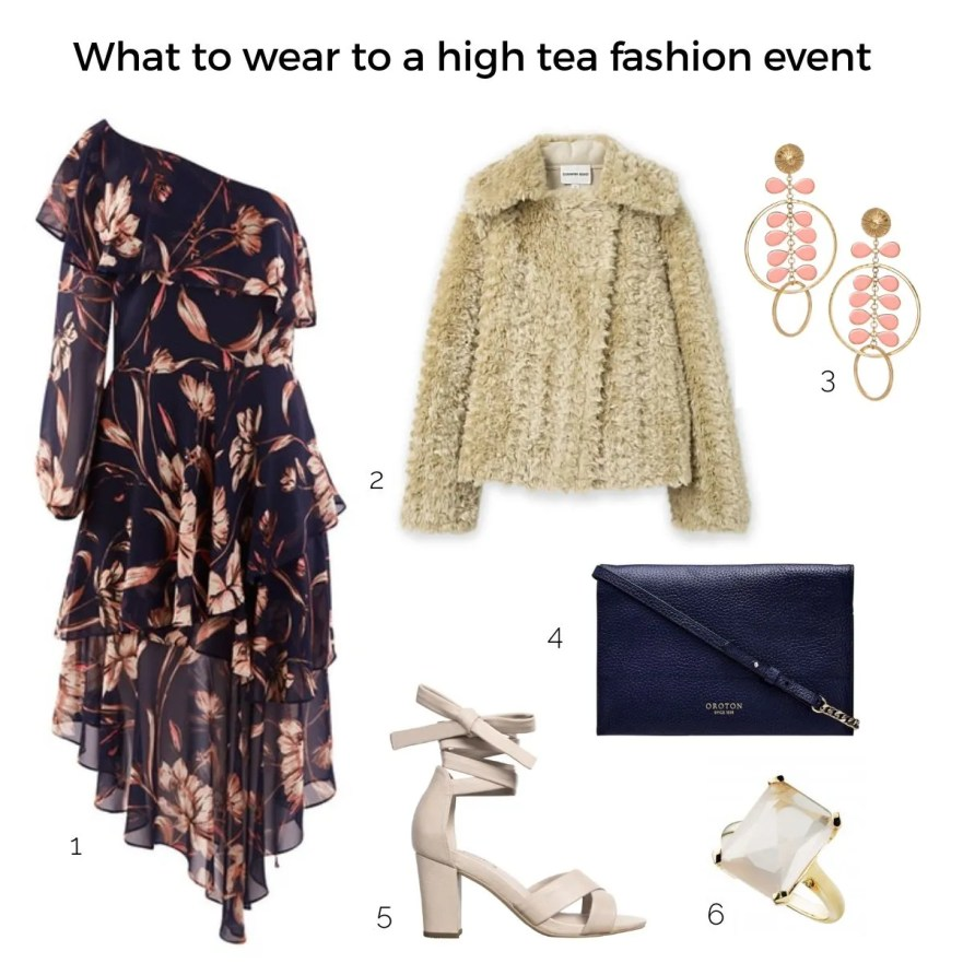 what to wear to a high tea fashion event | Styling You