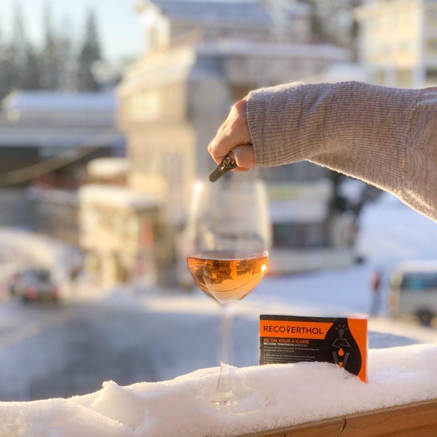 Recoverthol   apre ski   helps manage hangovers