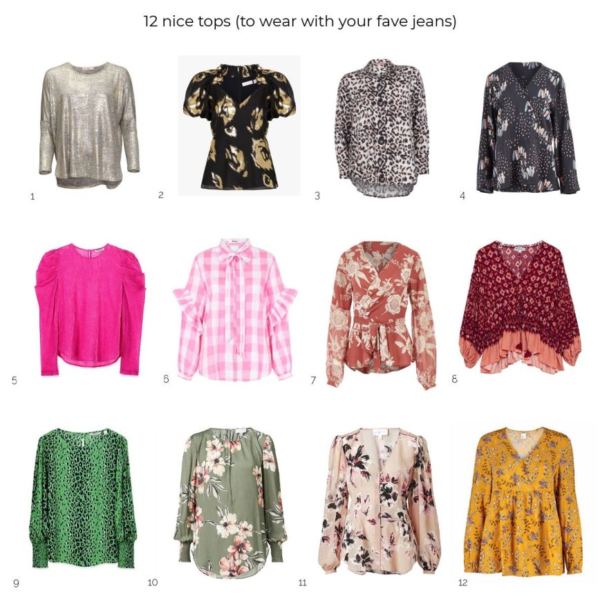 2 nice tops to wear with your fave jeans