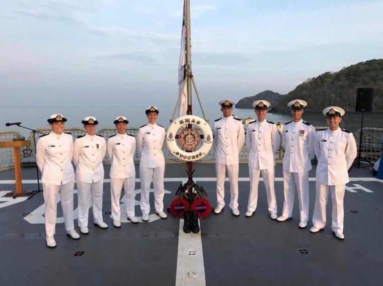 HMAS Success ANZAC Day 2019