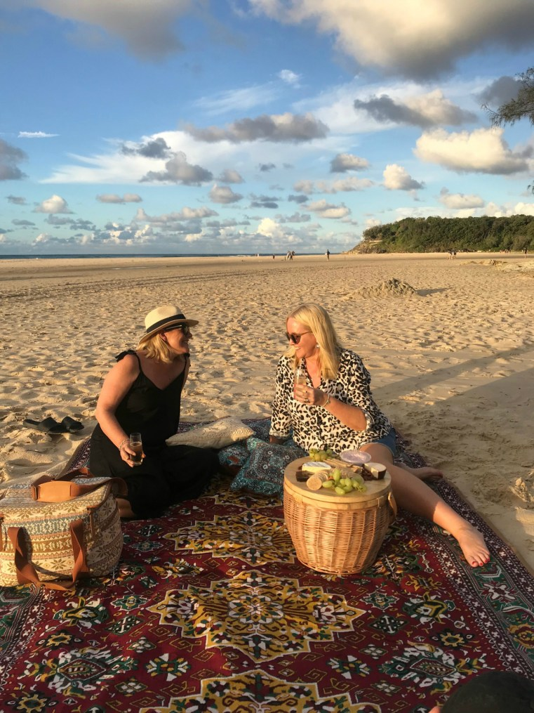 North Stradbroke Island   The Beach People picnic basket