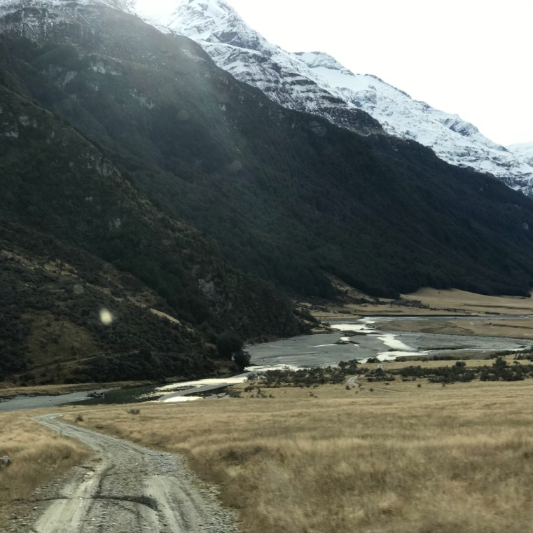 Rees Valley from Muddy Creek carpark, New Zealand