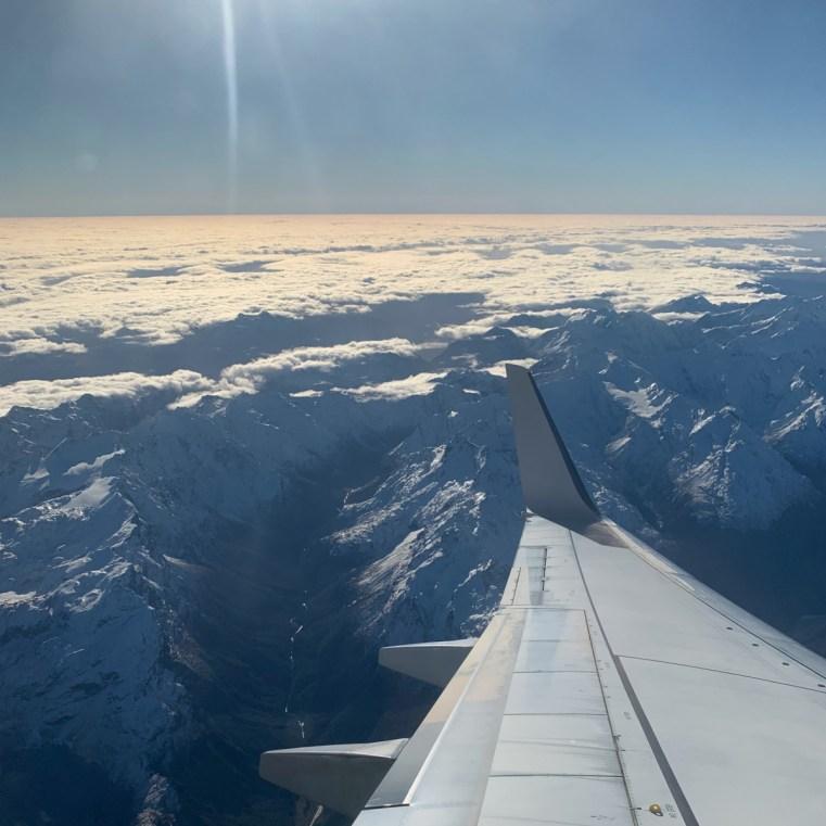 Virgin Australia flying into Queenstown, NZ