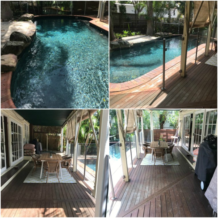 Before and after: renovating a 1990s concrete pool and deck