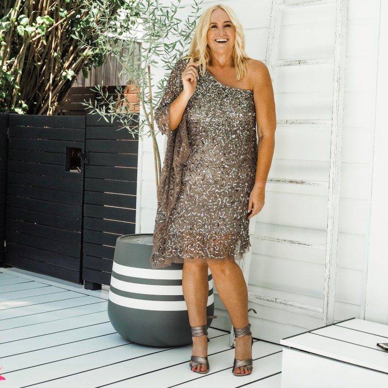 Montique cocktail dress _ FRANKiE4 Footwear ALANA heels