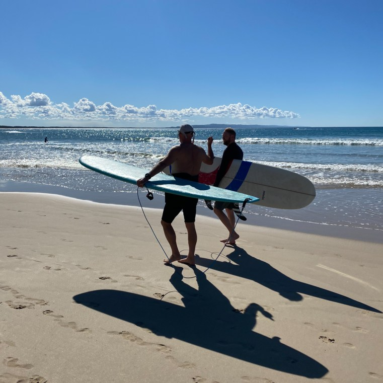 Merrick's Noosa Learn to Surf - what to do in Noosa in winter