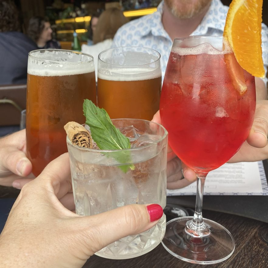 Sophisticated alcohol-free drinks are more and more readily available in stores and restaurants