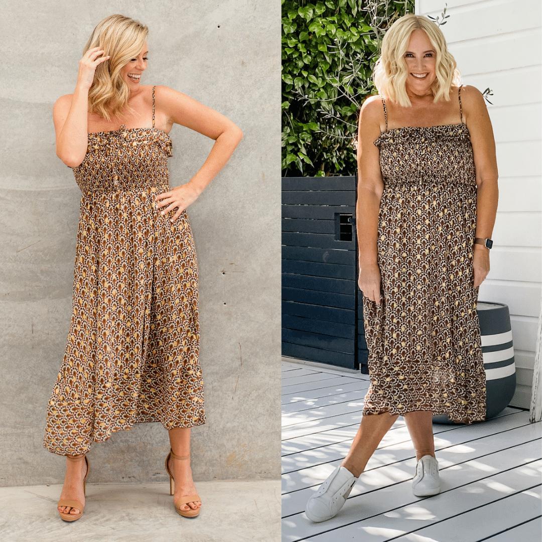 The Model and Me: RicRac Road Themyscira Dress