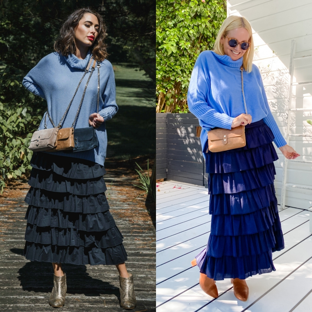 The Model and Me: Arlington Milne Sinead roll-neck knit