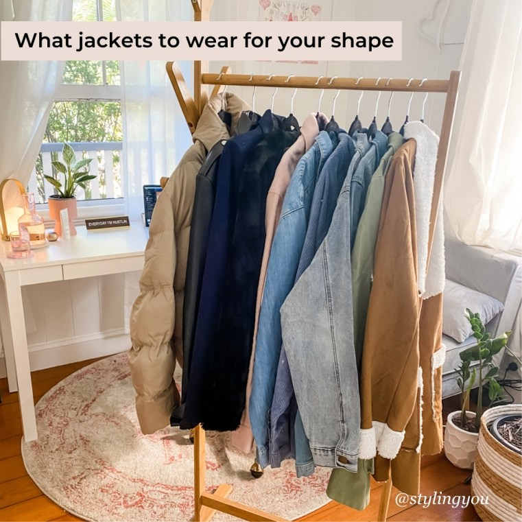 What jackets to wear for your shape | Styling You