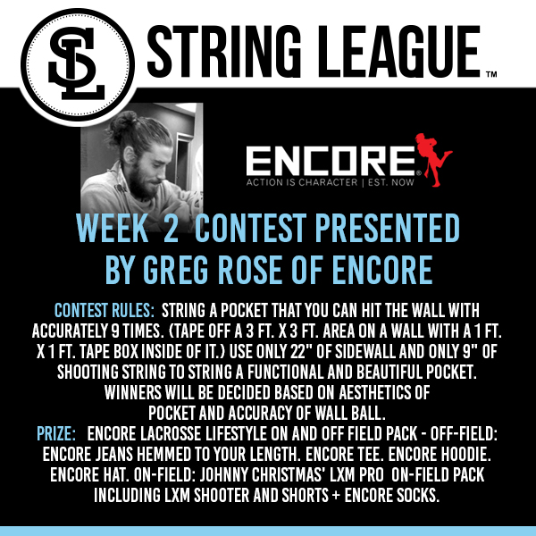 String-League-Week-2-Contest