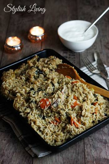 Makluba  orientalisches Reisgericht  Stylish Living