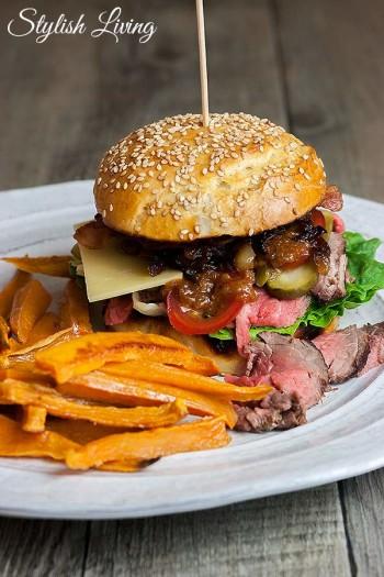 Leckerster Burger von Welt  Stylish Living