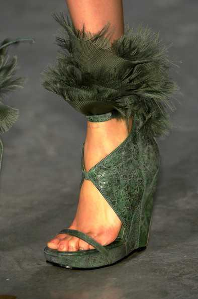 Paris Fashion Week  Some Cool  Weird Shoe Designs  Footwear