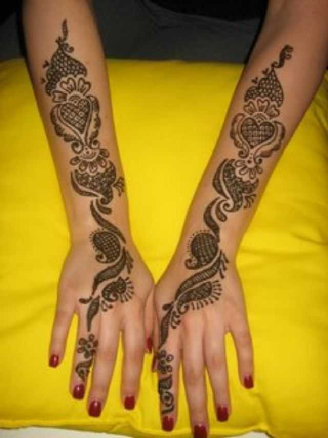 Arabic Hand Mehndi Designs For Beginners  Arabic Hand