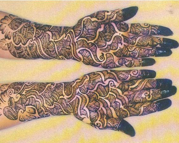 Arabic Mehndi Designs For Full Hands Images