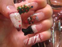 Santa Claus Nail Art Ideas For Christmas - Christmas Nail ...