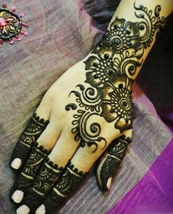 Mehndi Design Arabic Easy And Simple