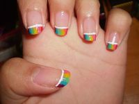 Rainbow Nail Art Gallery: Stunning Rainbow Nail Art Designs