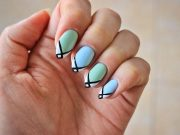 3 simple nail art design spring