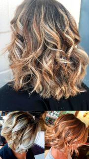 attractive short curly