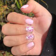 cute short acrylic nails ideas