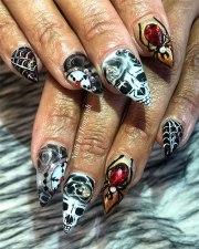 halloween nail ideas in 2019