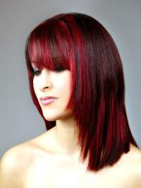 Short Hair Color Streaks The Best Short Hairstyles For ...