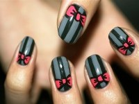 Pics For > Nail Art Dots And Lines