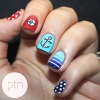Who Wants To Get These Anchor Nail Arts?