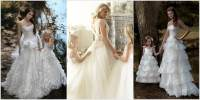 These Bride and Flower Girl Matching Dresses are Just ...