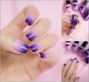 two tone nail art ideas 'll