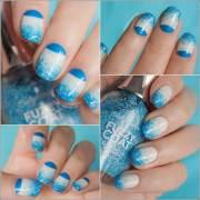 two tone nail art ideas ll