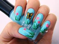 Would You Try These Adorable Tulip Nail Arts For The Spring?