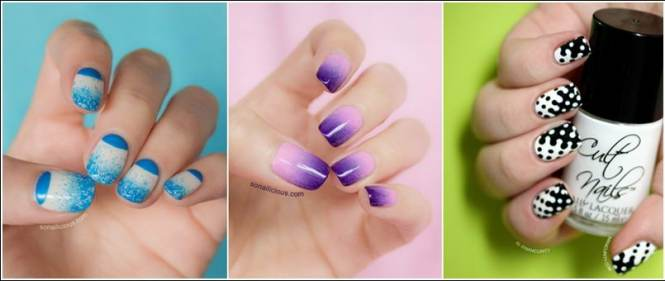 Beautiful And Easy Nails Art Fashion Designs Collection
