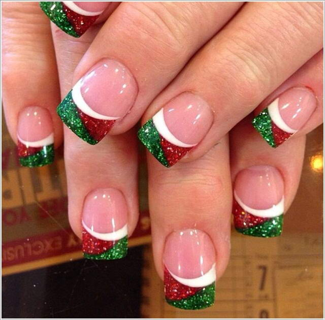 1 Image Via Naildesignsforyou These Nails Have Tips Designs