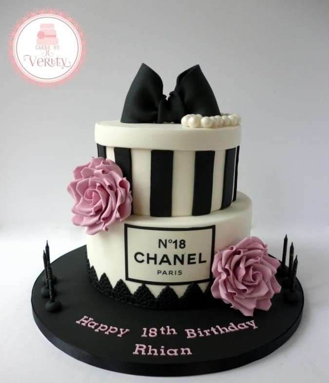 10 Gorgeous Chanel Cakes For An Amazing Birthday