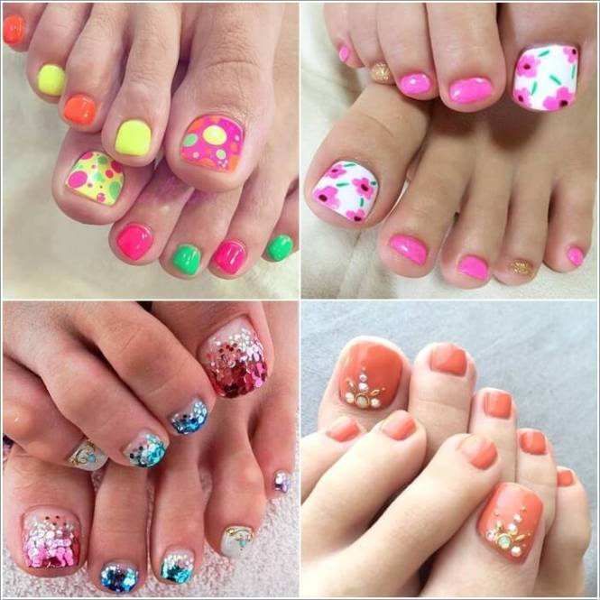 Awesome Summer Toe Nails For Women